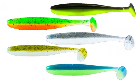 Силикон Basic Lures White Fish 4.0 MIX