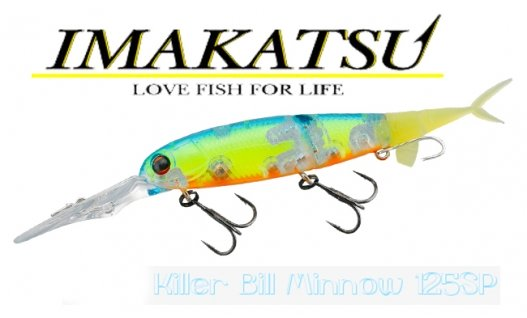 Воблер Imakatsu  Killer Bill Minnow 125SP