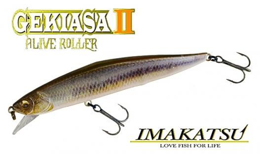 Воблер Imakatsu Rip Rizer Gekiasa II Alive Roller 105F