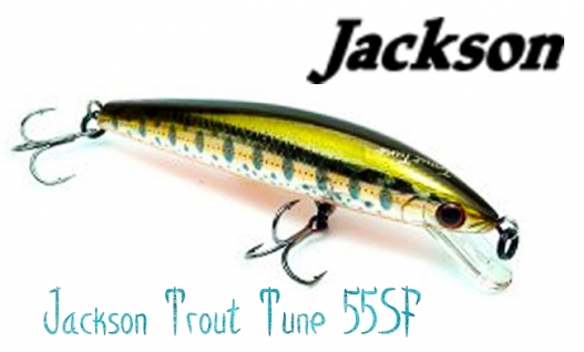 Воблер Jackson Trout Tune 55SF