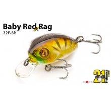 Воблер Pontoon 21 Baby Red Rag 32F-SR
