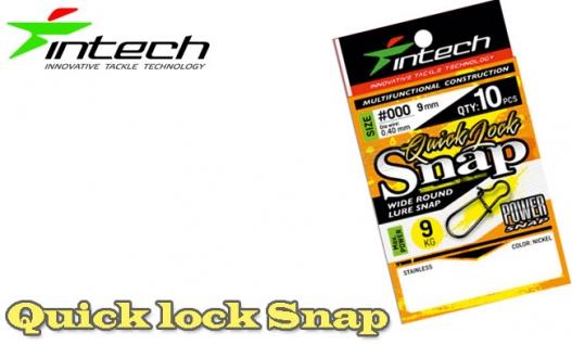Застежка Intech Quick lock Snap